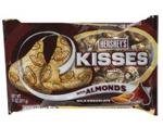 Milk Chocolate Candies Kisses w/Almonds 13.5 oz